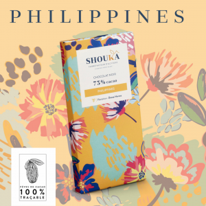 """Chocolat Noir – 73% Cacao<br><small class=""""productArchive-tag"""">PHILIPPINES</small>"""