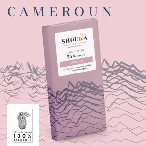 """Chocolat Lait – 53% Cacao<br><small class=""""productArchive-tag"""">CAMEROUN</small>"""