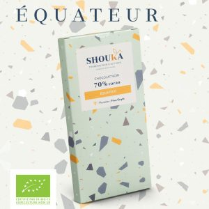 "Chocolat Noir – 70% Cacao<br><small class=""productArchive-tag"">ÉQUATEUR</small>"