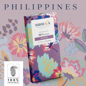 "Chocolat Lait – 50% Cacao<br><small class=""productArchive-tag"">PHILIPPINES</small>"