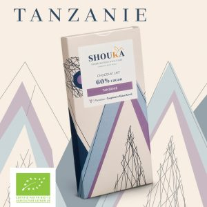 """Chocolat Lait – 60% Cacao<br><small class=""""productArchive-tag"""">TANZANIE</small>"""