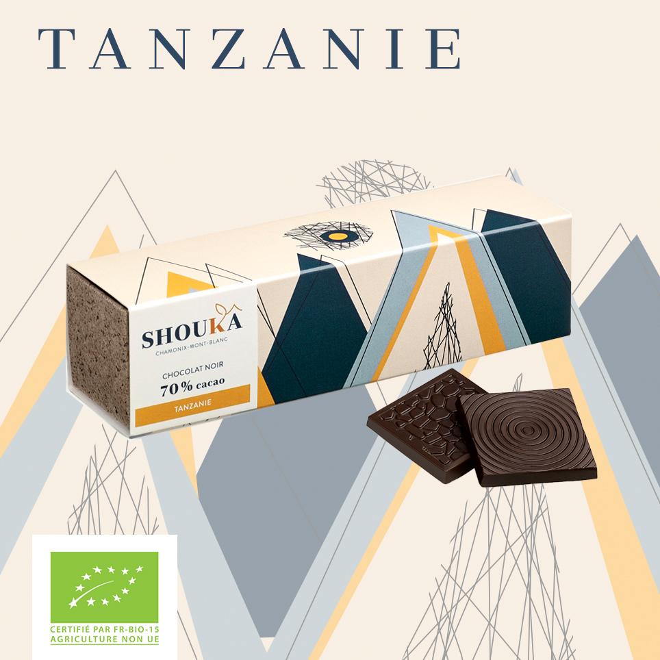 Napolitains Tanzanie Noir 70% Shoukâ