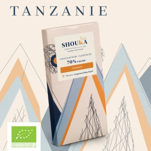 "Chocolat Noir – Fleur de sel – 70% Cacao<br><small class=""productArchive-tag"">TANZANIE</small>"