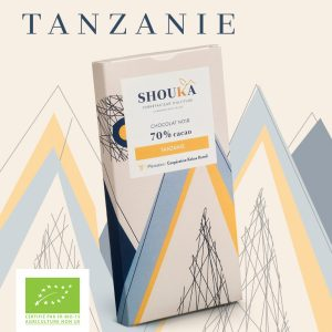 "Chocolat Noir – 70% Cacao<br><small class=""productArchive-tag"">TANZANIE</small>"