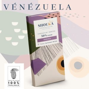 """Chocolat Lait – Noisettes – 50% Cacao<br><small class=""""productArchive-tag"""">VENEZUELA</small>"""