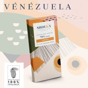 "Chocolat Noir – Noisettes – 70% Cacao<br><small class=""productArchive-tag"">VENEZUELA</small>"