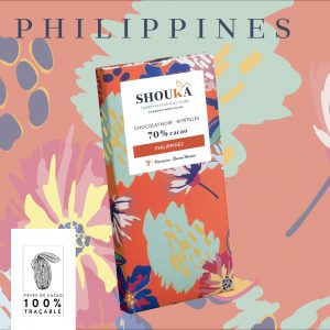 """Chocolat Noir – Myrtilles 70% Cacao<br><small class=""""productArchive-tag"""">PHILIPPINES</small>"""