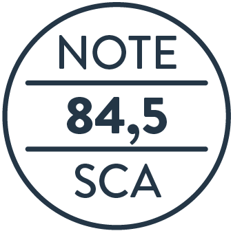 Note SCA 80+, Speciality Coffee Association, Shoukâ
